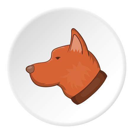 artoon: Dog head icon. artoon illustration of dog head vector icon for web