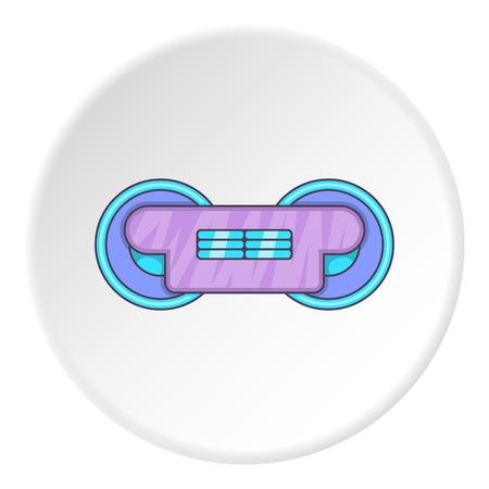 round rods: Train wheels icon. artoon illustration of train wheels vector icon for web