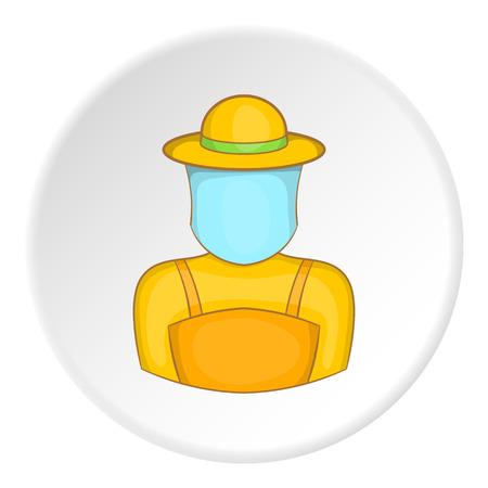 artoon: Apiarist icon. artoon illustration of apiarist vector icon for web
