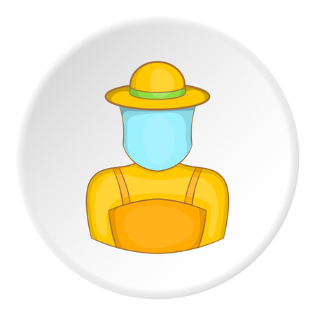 Apiarist icon. artoon illustration of apiarist vector icon for web