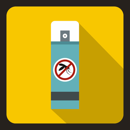 gnat: Repellent icon. Flat illustration of repellent vector icon for web Illustration