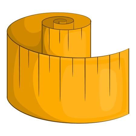 measurement tape: Measurement tape icon. Cartoon illustration of measurement tape vector icon for web Illustration