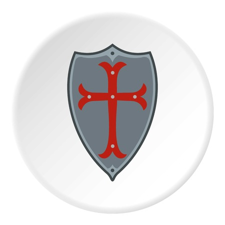 honour guard: Protection shield icon. Flat illustration of shield vector icon for web design Illustration