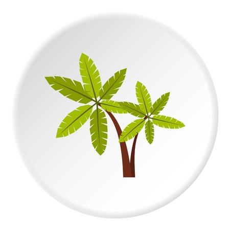 raw materials: Palma icon. Flat illustration of palma vector icon for web