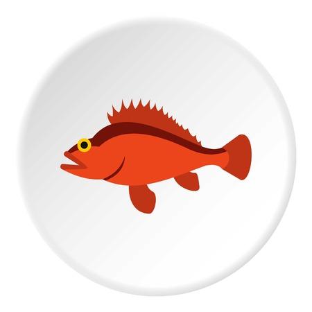 Ruff icon. Flat illustration of ruff vector icon for web Illustration