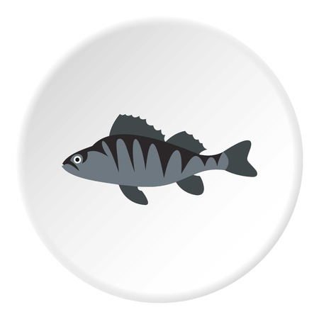tang: Perch icon. Flat illustration of perch vector icon for web