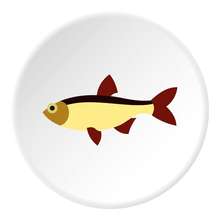 tang: Salmon icon. Flat illustration of salmon vector icon for web Illustration
