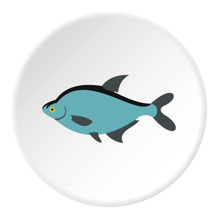 tang: Fish icon. Flat illustration of fish vector icon for web