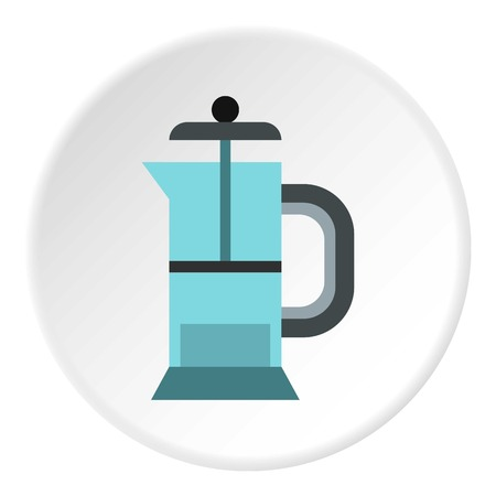Manual juicer icon. Flat illustration of manual juicer vector icon for web