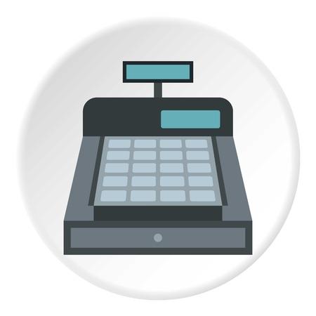 Ikona kasy. Płaska ilustracja ikony wektora kasy do projektowania stron internetowych