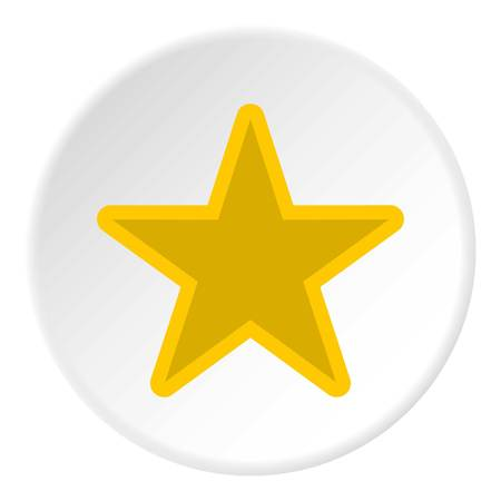 celestial: Celestial star icon. Flat illustration of celestial star vector icon for web