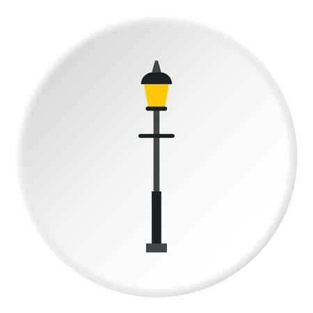 Lantern icon. Flat illustration of lantern vector icon for web Illustration