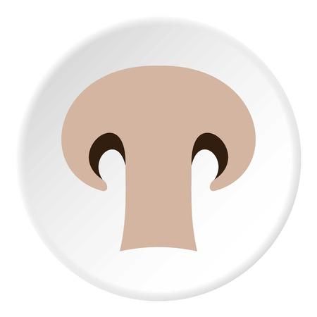 champignon: Champignon icon. Flat illustration of champignon vector icon for web