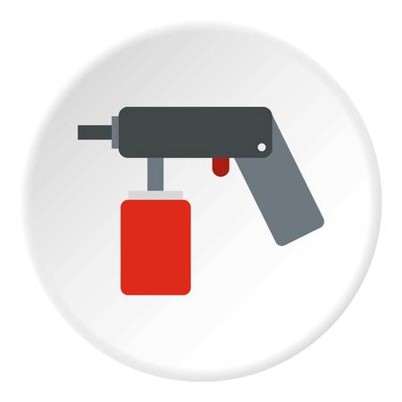 pulverizer: Pulverizer for painting icon. Flat illustration of pulverizer for painting vector icon for web Illustration