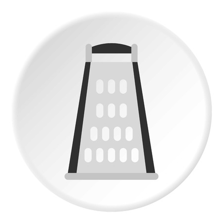 grater: Grater icon. Flat illustration of grater vector icon for web