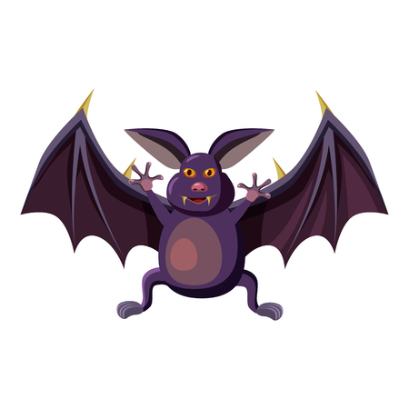 Bat icon. Cartoon illustration of bat vector icon for web