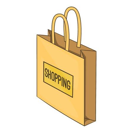 shopping bag vector: Shopping bag icon. Isometric illustration of shopping bag vector icon for web