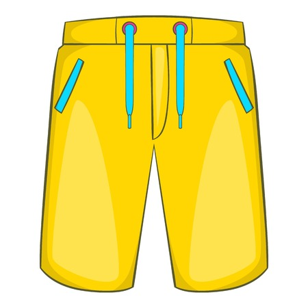 Breeches icon. Cartoon illustration of breeches vector icon for web
