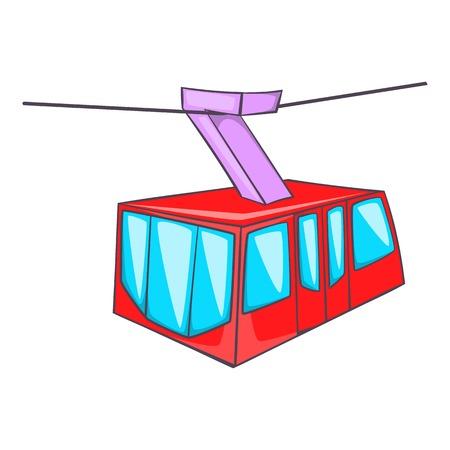 Istanbul tram icon. Cartoon illustration of tram vector icon for web design Ilustrace