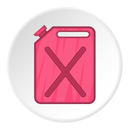 twist cap: Jerrycan icon. Flat illustration of jerrycanvector icon for web