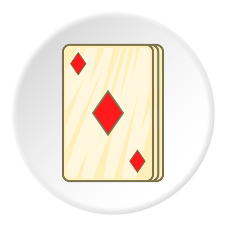 game cards: Game cards icon. Cartoon illustration of game cards vector icon for web
