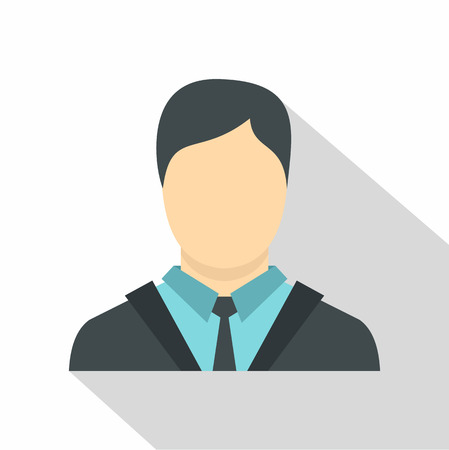 Manager icon. Flat illustration of manager vector icon for web isolated on white background