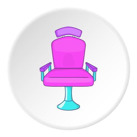 barber chair: Barber chair icon. Cartoon illustration of barber chair vector icon for web Illustration