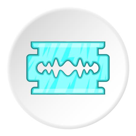 blade: Blade icon. Cartoon illustration of blade vector icon for web Illustration