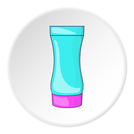 after: After shave gel icon. Cartoon illustration of after shave gel vector icon for web
