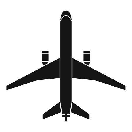 boeing: Plane icon. Simple illustration of lane vector icon for web