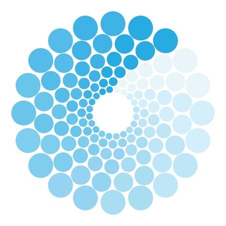 Loading process circular icon. Cartoon illustration of loading process circular vector icon for web