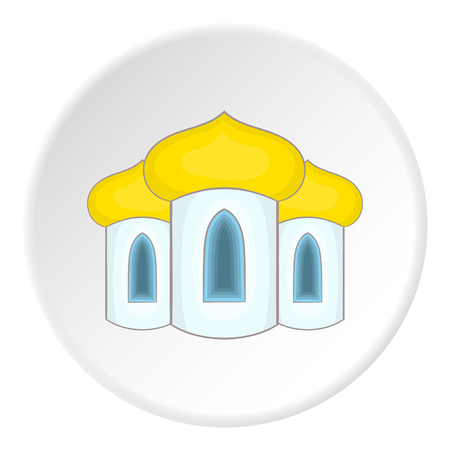 minaret: Mosque icon. Flat illustration of mosque vector icon for web