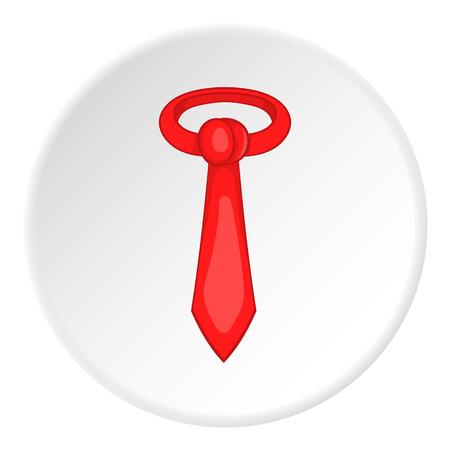 taylor: Tie icon. Cartoon illustration of tie vector icon for web