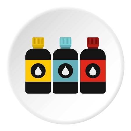 Printer ink icon. Flat illustration of printer ink vector icon for web Illustration