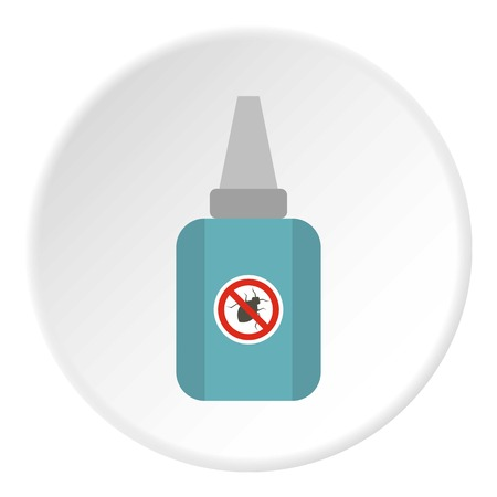 Insect spray icon. Flat illustration of insect spray vector icon for web Illustration