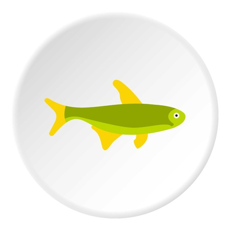 trout: Trout fish icon. Flat illustration of trout fish vector icon for web