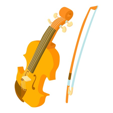 contrabass: Contrabass icon. Cartoon illustration of contrabass vector icon for web