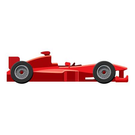 Sport car side view icon. Isometric 3d illustration of sport car side view vector icon for web Illustration