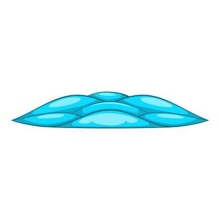 quiet: Quiet waves icon. Cartoon illustration of quiet waves vector icon for web