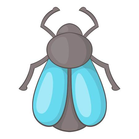 hairy legs: Fly icon. Cartoon illustration of fly vector icon for web