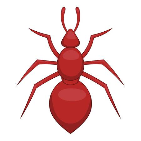 Ant icon. Cartoon illustration of ant vector icon for web Illustration
