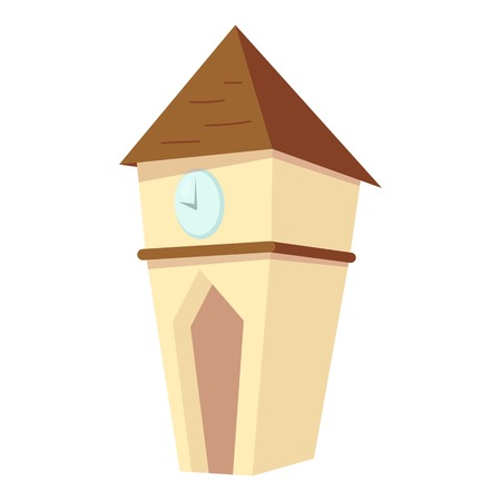 big timer: Big watch icon. Cartoon illustration of big watch vector icon for web Illustration