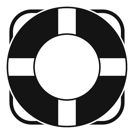 lifeline: Lifeline icon. Simple illustration of lifeline vector icon for web