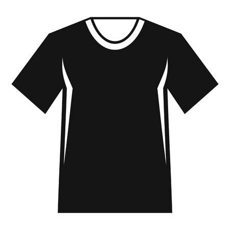 Men tennis t-shirt icon. Simple illustration of men tennis t-shirt vector icon for web 일러스트