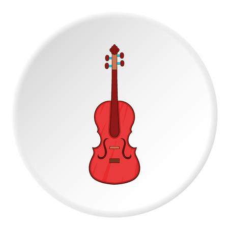 fiddlestick: Cello icon. Cartoon illustration of cello vector icon for web