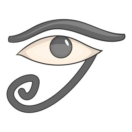 ra: Egypt god Ra symbol icon. Cartoon illustration of Ra symbol vector icon for web design Illustration