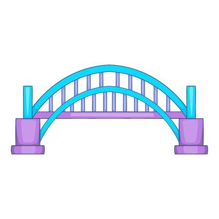 Sydney Harbour bridge icon. Cartoon illustration of Harbour bridge vector icon for web design
