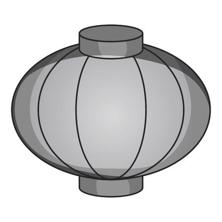 sky lantern: Sky lantern icon. Gray monochrome illustration of lantern vector icon for web design