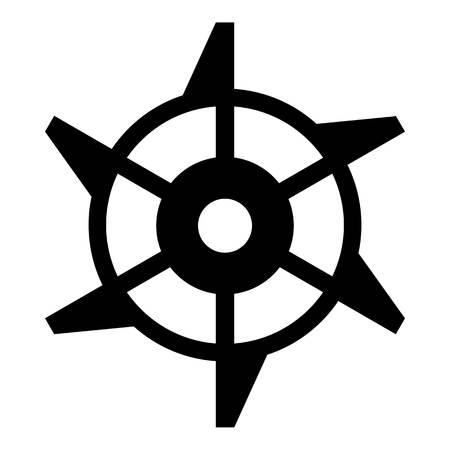 Mine equipment icon. Simple illustration of mine equipment vector icon for web Illustration