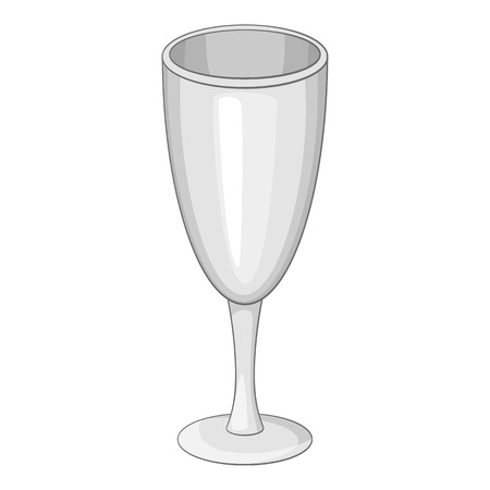 Wineglass icon. Cartoon illustration of wineglass vector icon for web Illustration